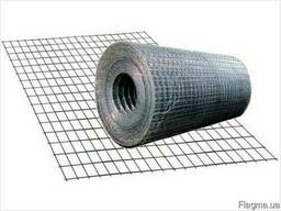 Сетка оцинкованная сварная 6х6х 0,5мм, ширина 1 метр, рулон