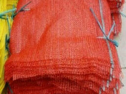 Сетка овощная 40х60 красного цвета