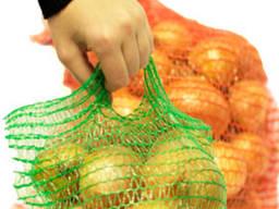 Сетка - мешок овощная 25*39 (до 5 кг) Красная, Фиолетовая