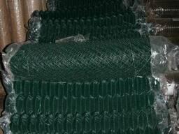 Сетка плетеная 25*1,65/2,5 оцинкованная в полимерном