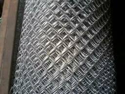 Сетка плетеная рабица 15х15 мм ГОСТ 5330-80