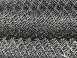 Сетка плетеная рабица из сталистой не оцинкованной и оцинков