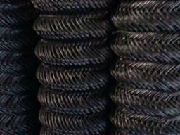 Сетка-рабица черная, яч. 25х25 мм купить цена