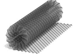Сетка рабица оцинкованная 15х15*1,5мм, 1,0м