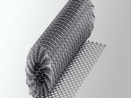 Сетка рабица оцинкованная 15х15 ф1,2мм h-1,0м
