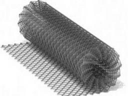 Сетка Рабица оцинкованная 35х35х1, 8 h=1м, доставка