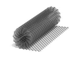 Сетка рабица оцинкованная 35x35x1, 8мм (Ширина 1м)