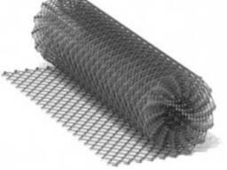 Сетка рабица оцинкованная #55мм*Ø2.4мм*h1,2м*10м. п