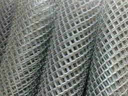Сетка рабица оцинкованная 60х60/3, 0мм 2, 0м/10м купить, цена,