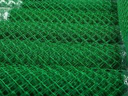 Сетка Рабица с полимерным покрытием ячейка 25х25 мм. ..