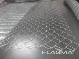 Сетка рабица яч. 60 х 60 х 3 мм оцинкованая