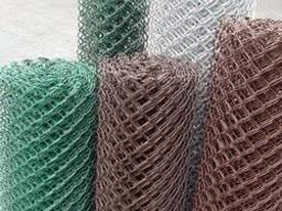 Изготовление сетки рабицы под заказ