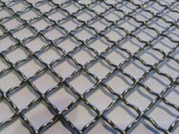 Сетка рифленая канилированная 10х10-20х20-50х50мм 3-5мм