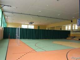 Сетка-штора для перегородок спортивных залов
