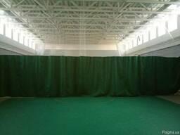 Сетка-штора для разделения спортивных залов