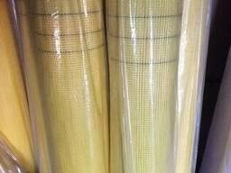 """Сетка штукатурная фасадная """"IDEAL"""" желтая 160 гр/м2 ,50м"""