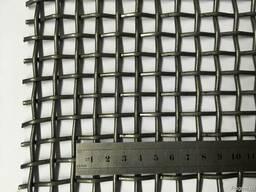 Сетка, сито для грохота Р12-3,0 12х12х3,0мм. Ст.55 ГОСТ 3306