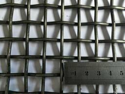 Сетка, сито для грохота Р14-4,0 14х14х4,0мм. Ст.55 ГОСТ 3306
