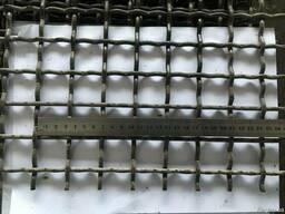 Сетка, сито для грохота Р30-5,0 30х30х5,0мм. Ст.55 ГОСТ 3306