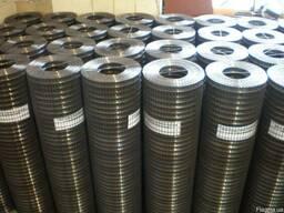 Сетка сварная оцинкованная 50х50х1, 2 мм рулоны 1, 0 х 30 м.