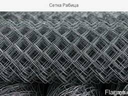 Сетка стальная плетёная (сетка рабица) купить цена