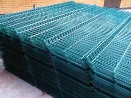 Сетка сварная для забора (панельная зелёная) на складе