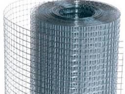Сетка сварная оцинкованная сетка для клеток 20х20х1, 6 мм