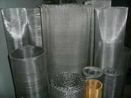 Сетка тканая фильтр-ная н/ж ГОСТ 3187-76 сталь 12Х18Н10Т