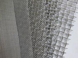 Сетка тканая из нержавеющей стали AISI 304, AISI 316