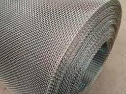 Сетка тканая латунная 0, 8х0, 3мм