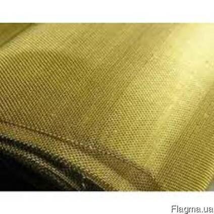 Сетка тканная латунная Л-80 размер0,8-0,3мм100 см цена