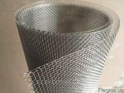 Сетка тканная нержавеющая 5, 0х5, 0х1, 0мм