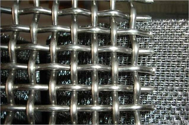 Сетка тканая нержавеющая 5,0х1,0