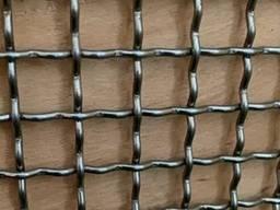 Сетка тканая нержавеющая 5,0-1,6мм (шир.1500мм)