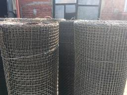 Сетка тканая оцинкованная 2,0-0,5мм