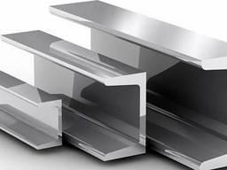 Алюминиевый швеллер 25х25х2х6000 мм АД31 Т5. анод