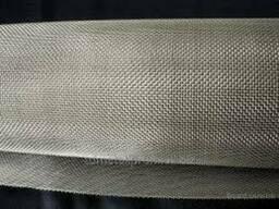 Сетка тканая проволочная с квадратными ячейками 0, 14 мм