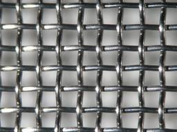 Сетка тканна нержавейка ячейка 15,0*15,0*2,0мм