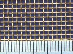 Сетка тканная нержавеющая12Х18Н10Т0,5-0,25