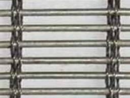 Сетка транспортерная, сетка конвейерная, сетка тросиковая