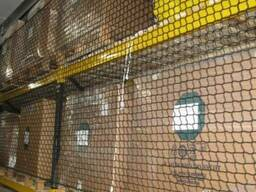Сетка заградительная капроновая для перегородок складских