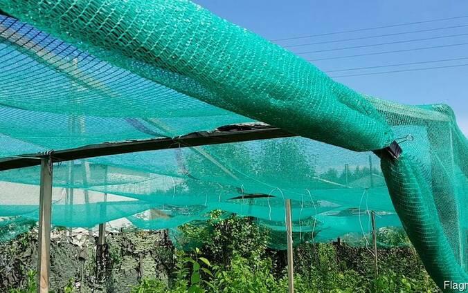 Строительная сетка защитная, затеняющая, фасадная