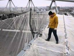 Сетка защитно-улавливающая (ЗУС) 3, 7м*57, 6 м , белая