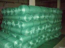 Сетка защитная заборная зелёная плотность 110 г/м2