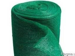 Сетка затеняющая зелёная