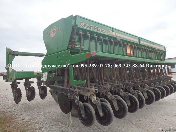 Сеялка зерновая Great Plains 4,5м. из США