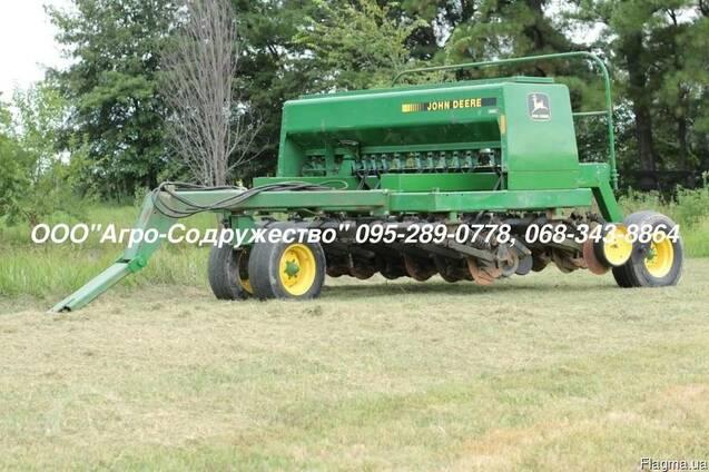 Сеялка зерновая механическая Джон Дир John Deere 750 из США