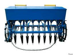 Сеялка зерновая 8 рядная для минитрактора