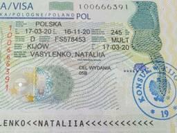 Сезонная виза в Польшу