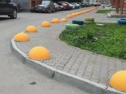 Сфера - Бетонная, Столбик, Декоративный забор - Изготовление